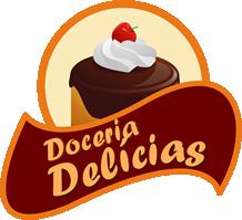 Doceria Delícias Logo