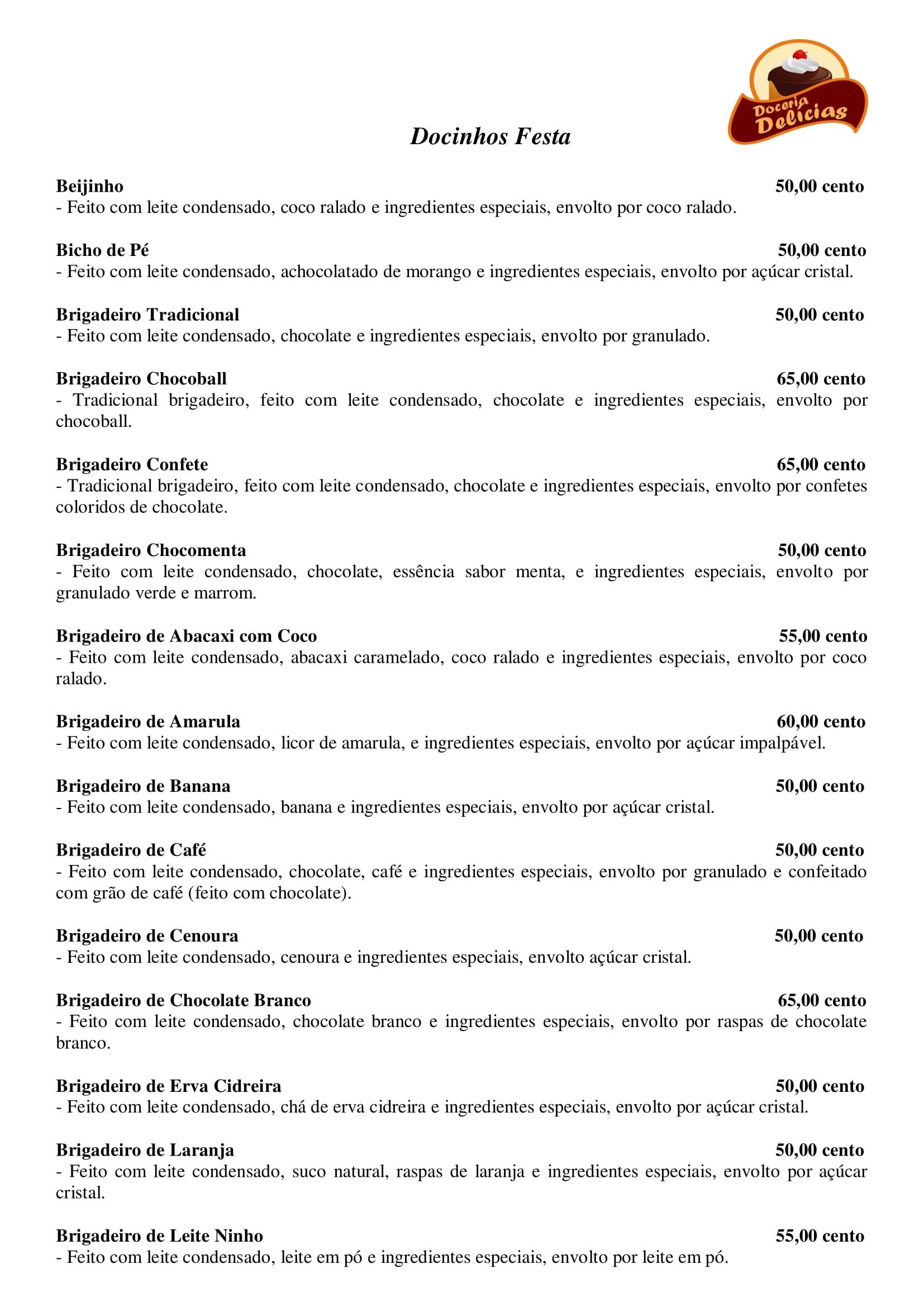 Docinhos Festa - Pag1